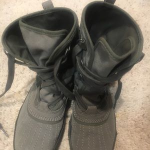 Canvas boots by Sorel